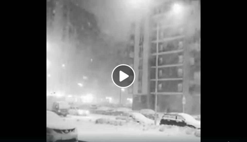 Neve a San Pietroburgo