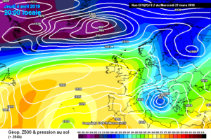 Meteo Aprile: possibile ritorno dell'inverno ad aprile
