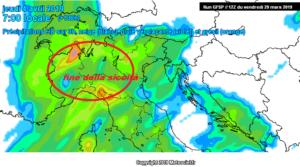 Probabile fine della siccità ad inizio Aprile