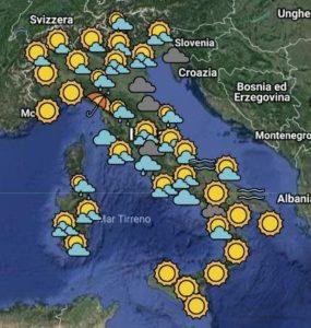 previsioni meteo tempo 12 13 marzo