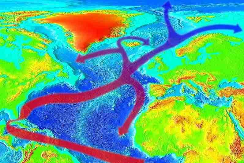 Corrente del Golfo: sta rallentando? Clima e possibili conseguenze
