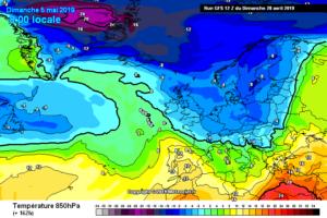 Meteo 4-5 Maggio 2019: scenari invernali secondo i principali modelli