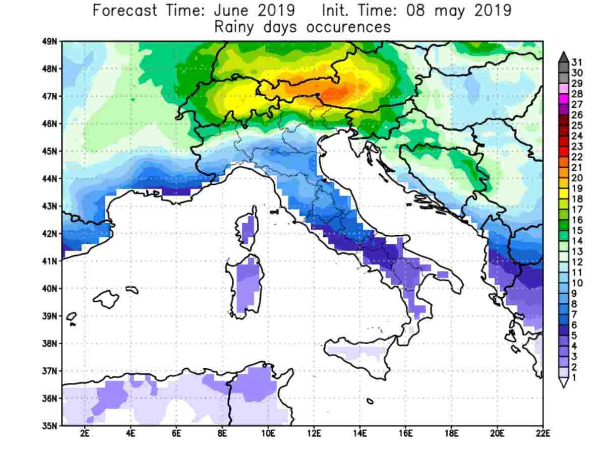 Previsioni Meteo estate 2019: quanto pioverà?