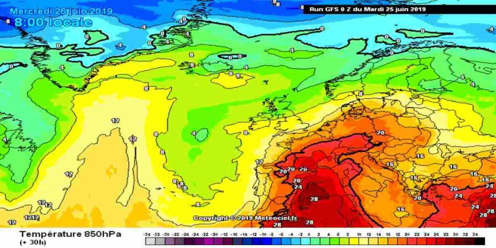 Meteo Giugno 2019: in arrivo ondata di caldo eccezionale, ma non solo