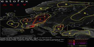 Meteo Allerta Estofex, Livello 2 per l'Italia il 10 Giugno 2019