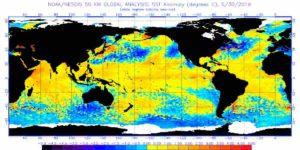 Temperature Mari, Giugno 2019: forti anomalie! Ma opposte al 2018
