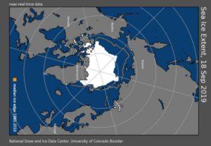 Polo Nord, estensione dei ghiacci artici nel 2019: sorprendente il bilancio!