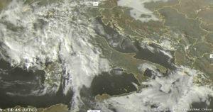 Meteo Italia in peggioramento: piogge in arrivo nelle prossime ore