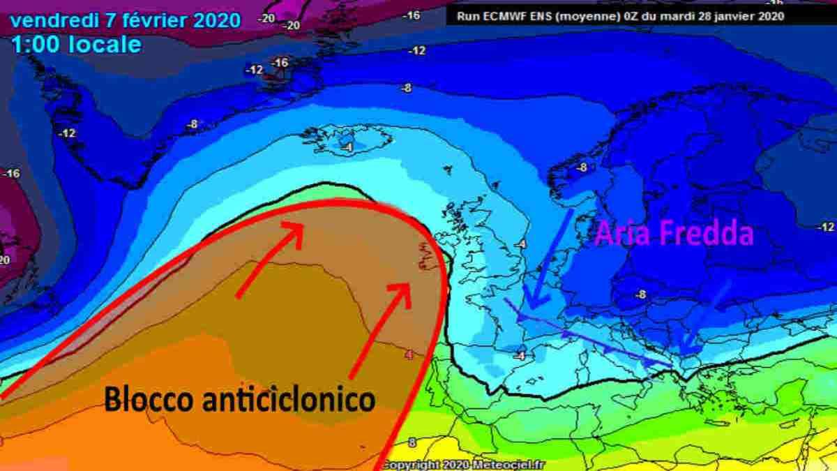 Meteo Febbraio 2020: inizio anomalo; ma poi sorprese a metà mese?
