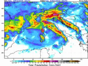 METEO ITALIA: MALTEMPO in arrivo con NUBIFRAGI, NEVE e FORTI VENTI , i dettagli