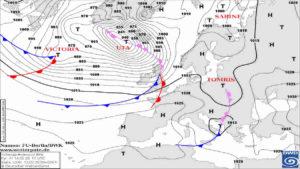 FEBBRAIO 2020 ANOMALO: CICLONE Atlantico, conseguenze per l'Italia