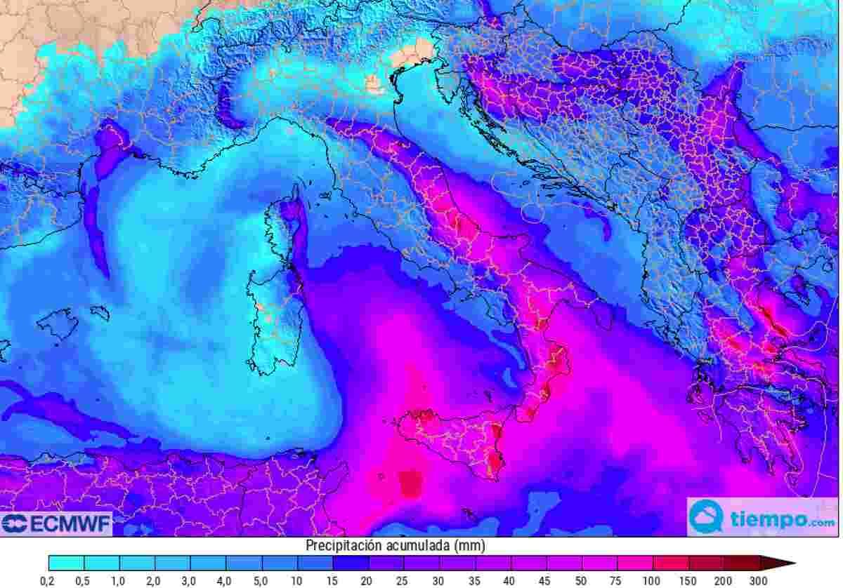 MALTEMPO ITALIA 25-26 Marzo: INTENSA PERTURBAZIONE con PIOGGIA e NEVE