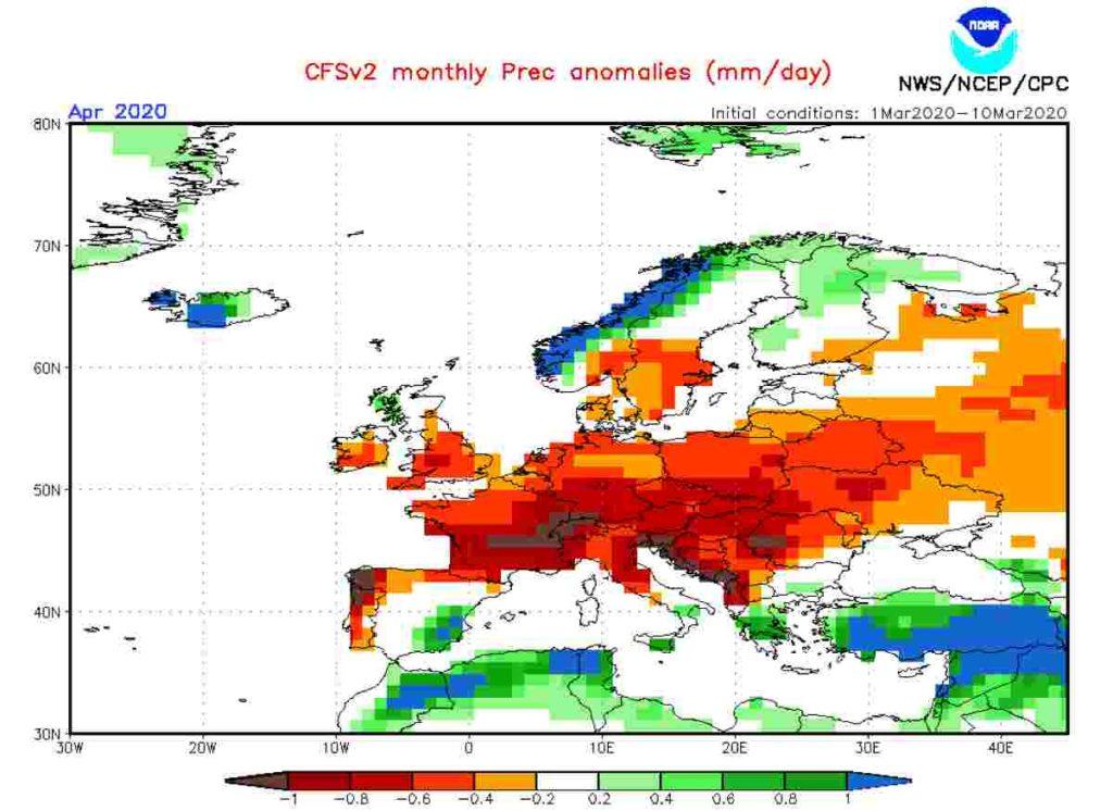 Meteo Aprile 2020: che tempo ci attende in Italia?