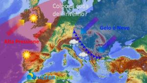 Meteo Marzo 2020: tornano Freddo e Neve dal 20, la tendenza