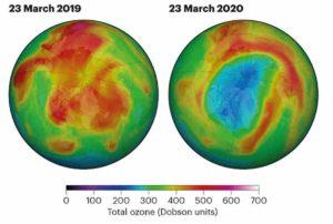 Buco dell'Ozono 2020: sull'Artico i dati sono da record