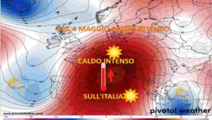 METEO ITALIA FASE 2: dal 4 MAGGIO 2020 CALDO intenso, in arrivo +30°C
