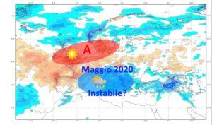 Tendenza Meteo Italia Maggio 2020: prima parte instabile e piovosa, e poi?