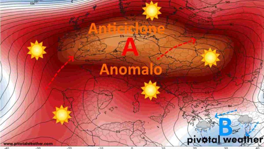 METEO ITALIA: Settimana Santa con l'ANTICICLONE, poi si rivolta pagina?