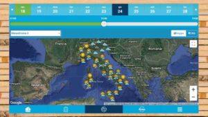 Meteodrome: alcuni consigli su come usare l'app