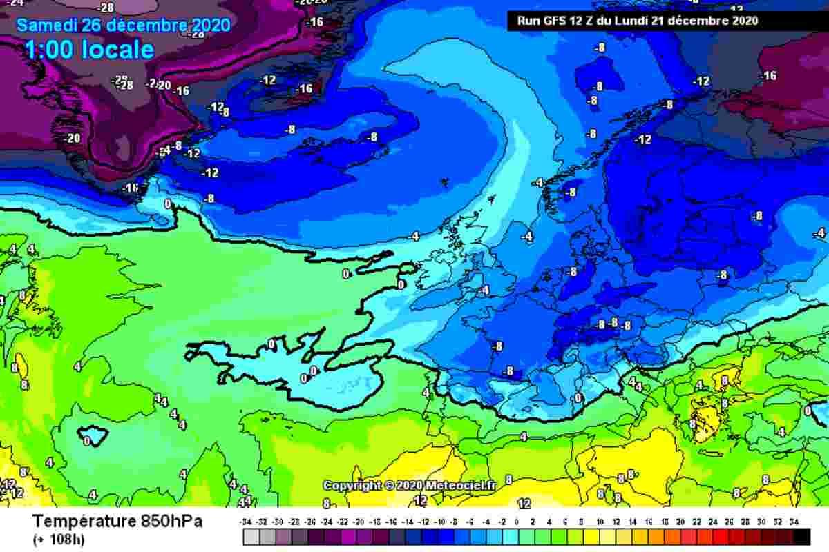 Meteo Fine Dicembre 2020: Rischio Neve tra Natale e Capodanno