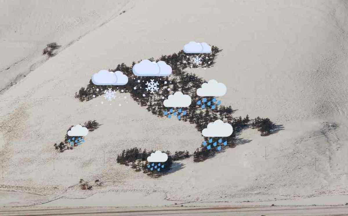 Meteo: Neve Abbondante anche in Pianura per Lunedì 28 Dicembre 2020