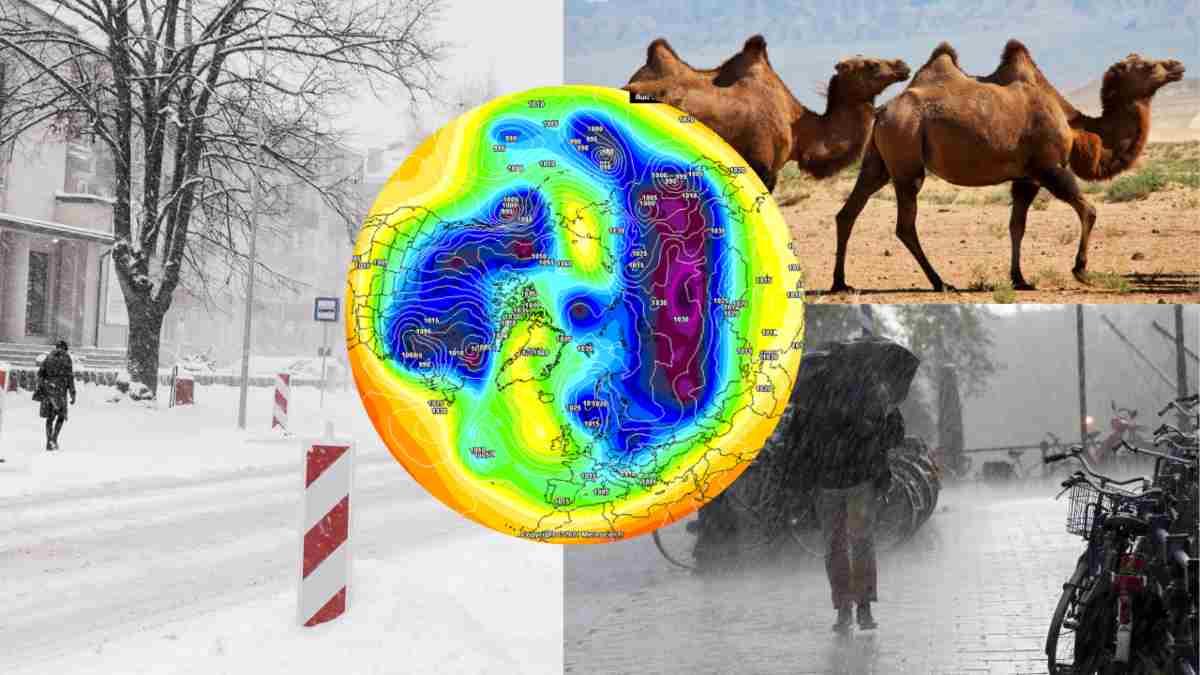 Meteo Lungo Termine: Possibile Imponente Spaccatura del Vortice Polare