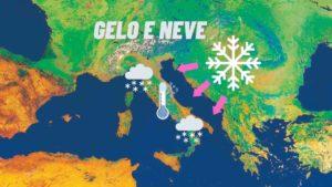 Meteo: Gelo e Neve sull'Italia già dall'week-end; Ecco Dove e la Tendenza
