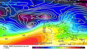 Meteo Seconda Settimana di Marzo: Tempo Dinamico su tutte le regioni