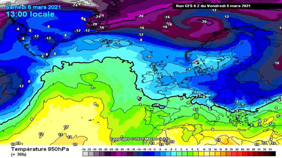 Meteo Primo Week-End di Marzo: più freddo, tornano piogge e nevicate!