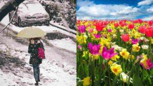Meteo 22-28 Marzo: Quarta Settimana del mese dai 2 volti della Primavera