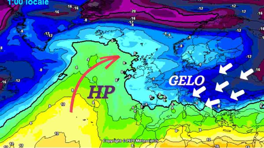Meteo Prima Settimana di Marzo: nel week-end probabile ritorno del freddo